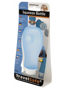 Miękka buteleczka Squeeze Bottle 90 ml Blue - TravelSafe